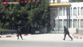 Video «21 Tote nach Geiselnahme in Tunis» abspielen