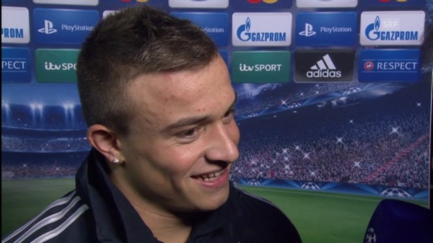 Video «Xherdan Shaqiri im Interview» abspielen