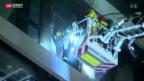 Video «Grossbrand in Campus-Neubau» abspielen