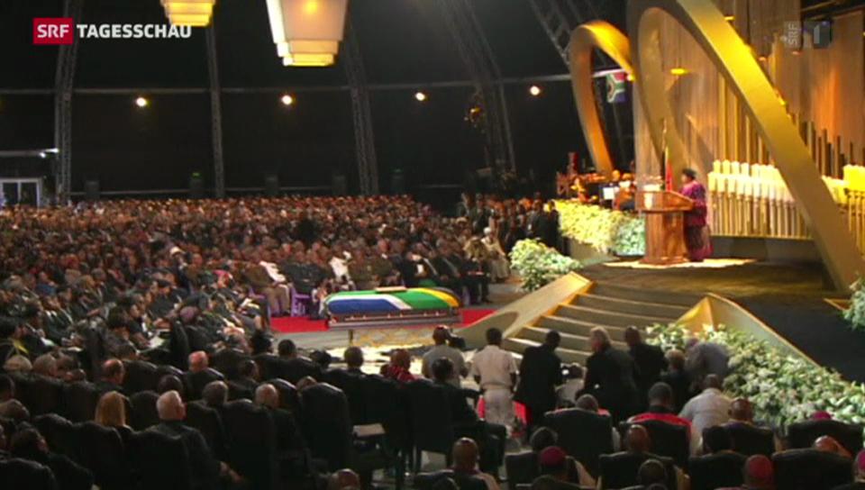 Nelson Mandela findet die letzte Ruhe