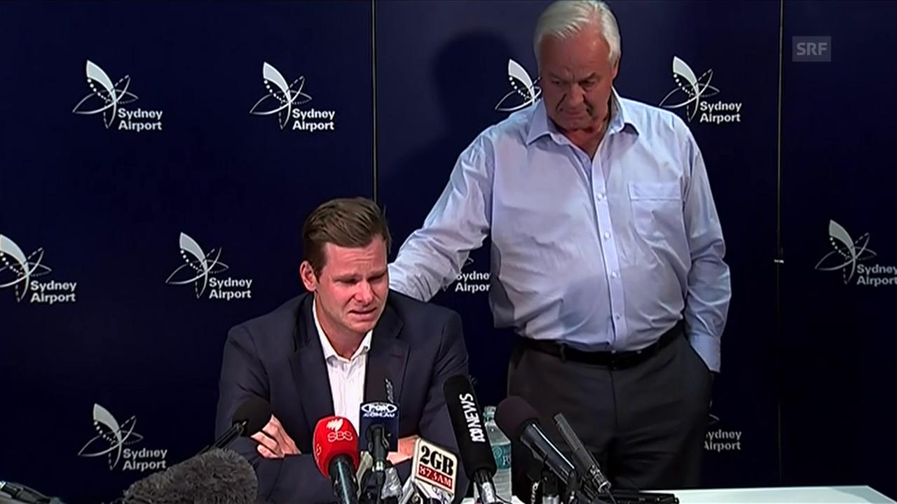 Australiens Captain entschuldigt sich für Cricket-Skandal