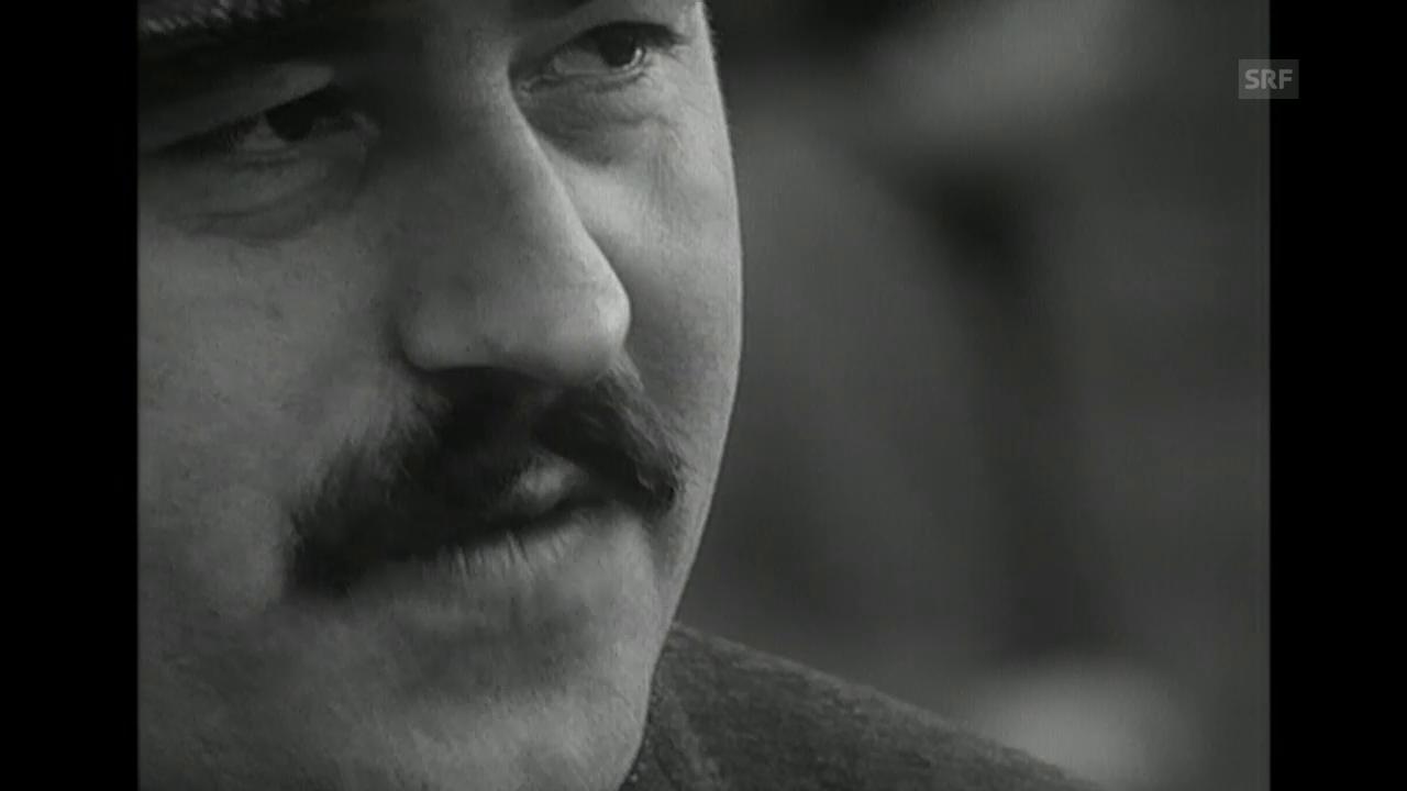 Günter Grass zu Wahlkampf und Dichtung (1965)
