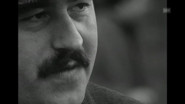 Video «Günter Grass zu Wahlkampf und Dichtung (1965)» abspielen