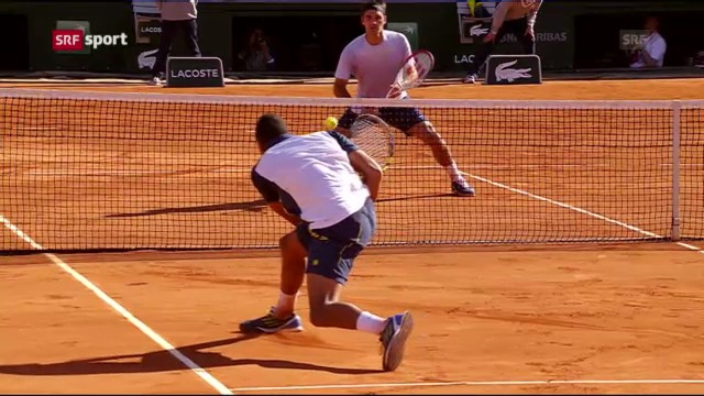 Federer - Tsonga: Spielbericht («sportaktuell»)
