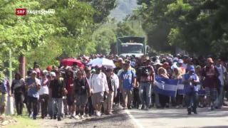 Video «Flüchtlingskrise in Mittelamerika dauert an» abspielen
