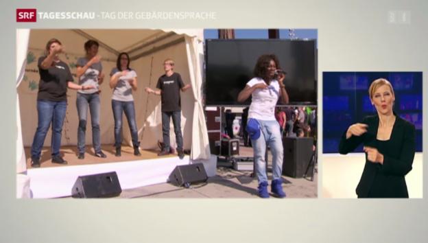 Video «Welttag der Gebärdensprache» abspielen