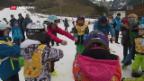 Video «Skikurs mit Olympiasiegerin» abspielen