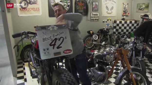 Video «Hobby-Töffmechaniker an Swiss-Moto» abspielen