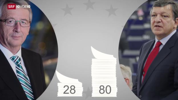 Video «Hal Juncker sein Verprechen gehalten?» abspielen