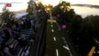 Video «Das Drohnen-Spektakel in Rapperswil» abspielen