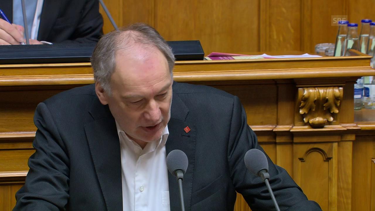 Thomas Hardegger spricht für die SP-Fraktion