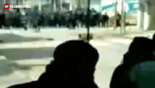 Amateur-Video aus Daraa: Sicherheitskräfte eröffnen das Feuer gegen Demonstranten (unkommentiert)