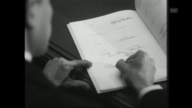 Video «Die neuen Genfer Konventionen (SFW vom 16.12.1949)» abspielen
