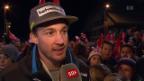 Video «Luca Aerni: Grosser Empfang in Grosshöchstetten» abspielen
