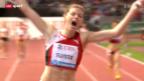 Video «Leichtathletik: Die Schweizer bei der Athletissima» abspielen