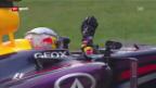 Video «Hülkenberg mit Saisonbestleistung - 6. Sieg für Vettel («sportpanorama»)» abspielen