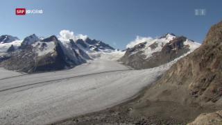 Video «FOKUS: Die Gletscherschmelze schreitet fort» abspielen
