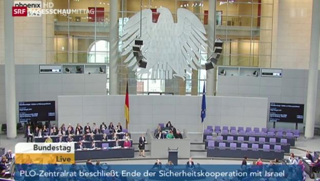 Video «Bundestag beschliesst Frauenquote» abspielen