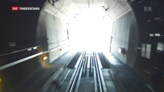 Video «Gotthard-Tunnel ist ein Erfolg» abspielen