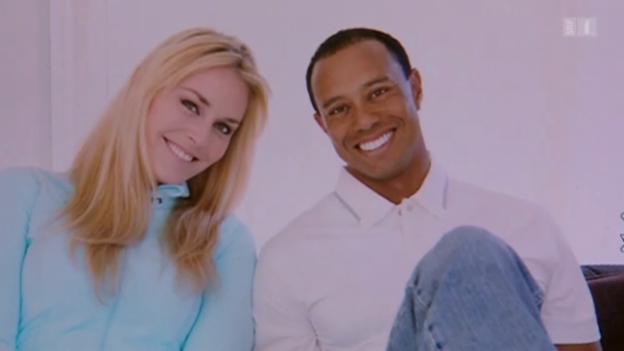 Video «Lindsey Vonn & Tiger Woods – frisch verliebt» abspielen