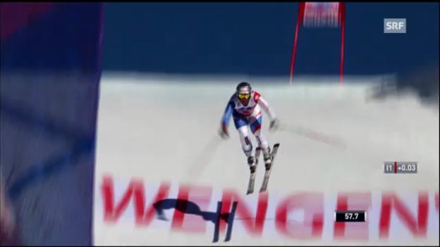 Video «Ski: Rückblick Wengen 2012» abspielen