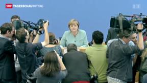 """Video «Merkel äussert sich zur """"Prism""""-Affäre» abspielen"""
