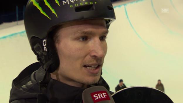 Video «Snowboard: Iouri Podladtchikov im Interview» abspielen