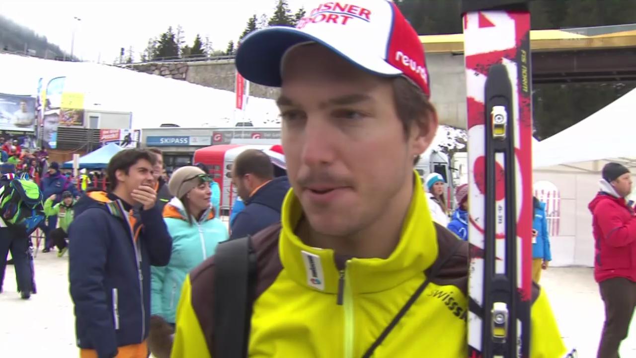 Interview mit Carlo Janka («sportlive», 20.12.13)
