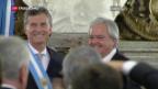 Video ««Panama Papers»: auch Mauricio Macri belastet» abspielen