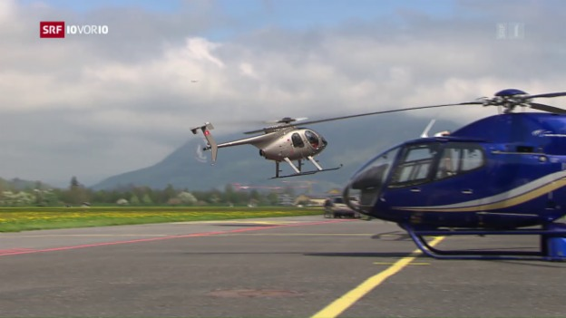 Video «Heli-Hub in Mollis» abspielen