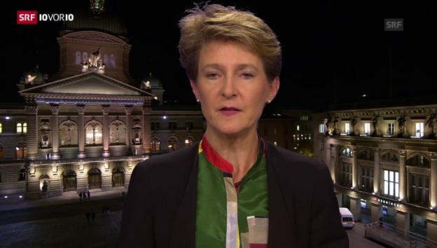 Video «Die Schweiz trifft Vorbereitungen für einen Flüchtlingsansturm» abspielen