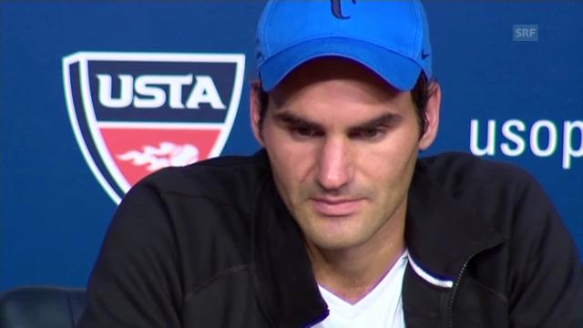 Federer scheitert in New York an Robredo («tagesschau»)