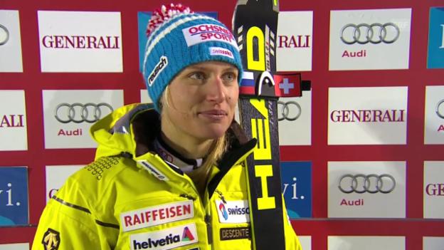 Video «Ski Alpin: Interview mit Denise Feierabend» abspielen