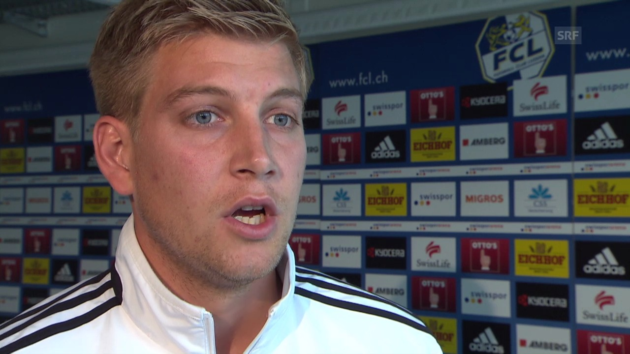 Fussball: Super League, Interview mit Florian Stahel