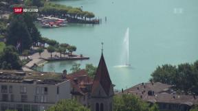 Video «Kanton Zug lockt reiche Russen mit Sonderbewilligungen» abspielen