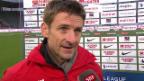 Video «Fussball: Super League, Thun - Zürich, Interview mit Urs Meier» abspielen