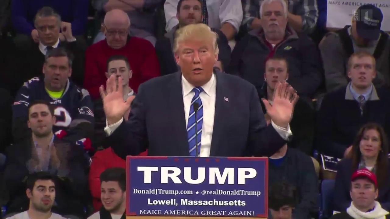 Provokateur Trump