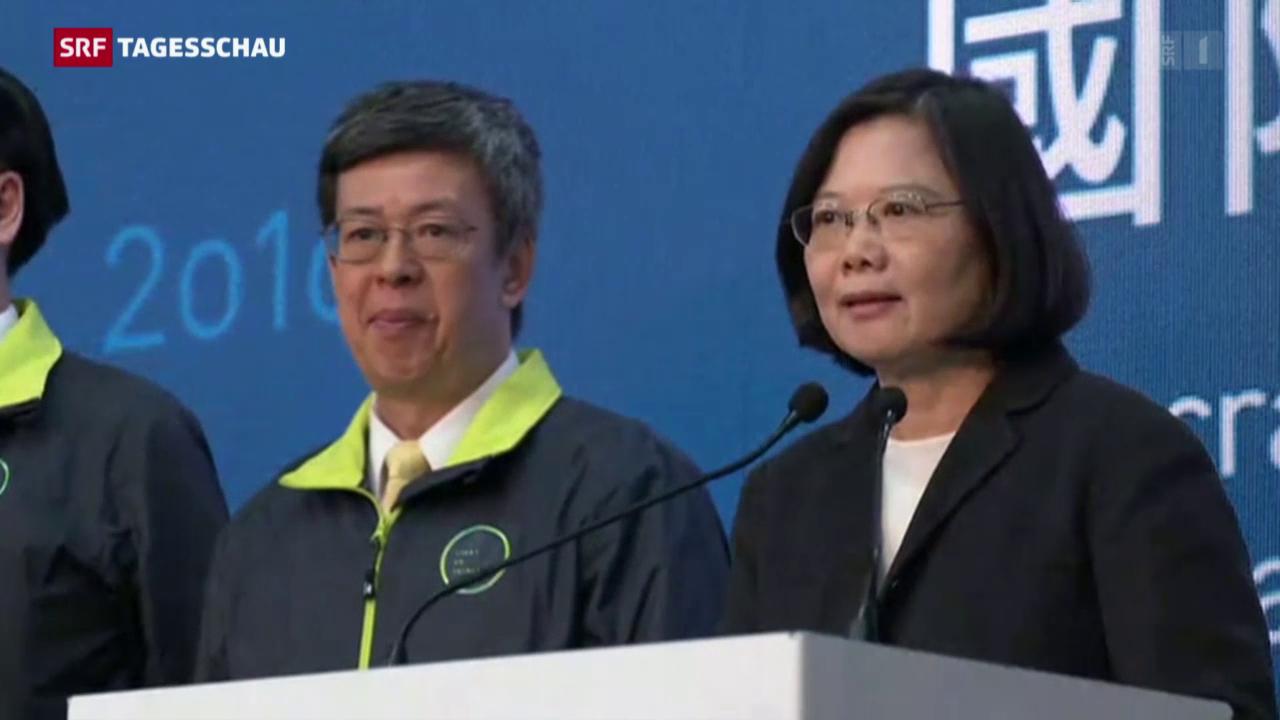 Machtwechsel in Taiwan
