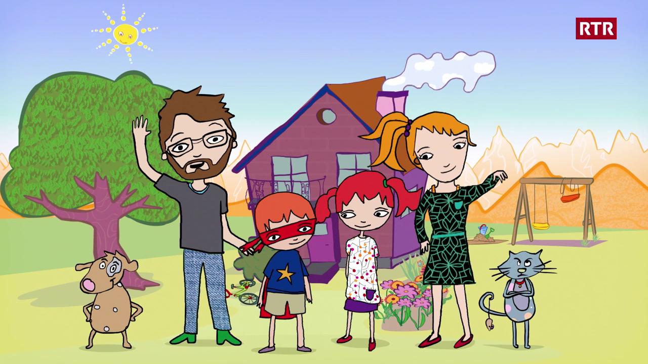 Episoda 1: La famiglia Babulin - Vallader