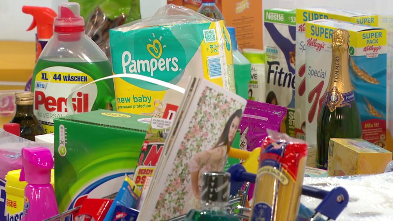 Der «Kassensturz»-Warenkorb: Wann werden Markenartikel billiger?