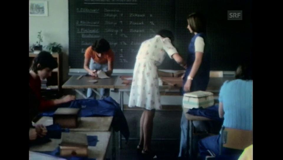 Schulung und Bildung der Mädchen
