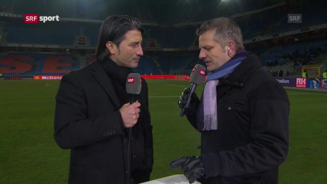 Fussball: Interview mit FCB-Trainer Murat Yakin