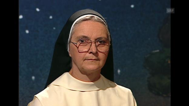 Video «Ausschnitt aus der ersten Sternstunden-Sendung mit Ingrid Grave vom 28.8.1994» abspielen