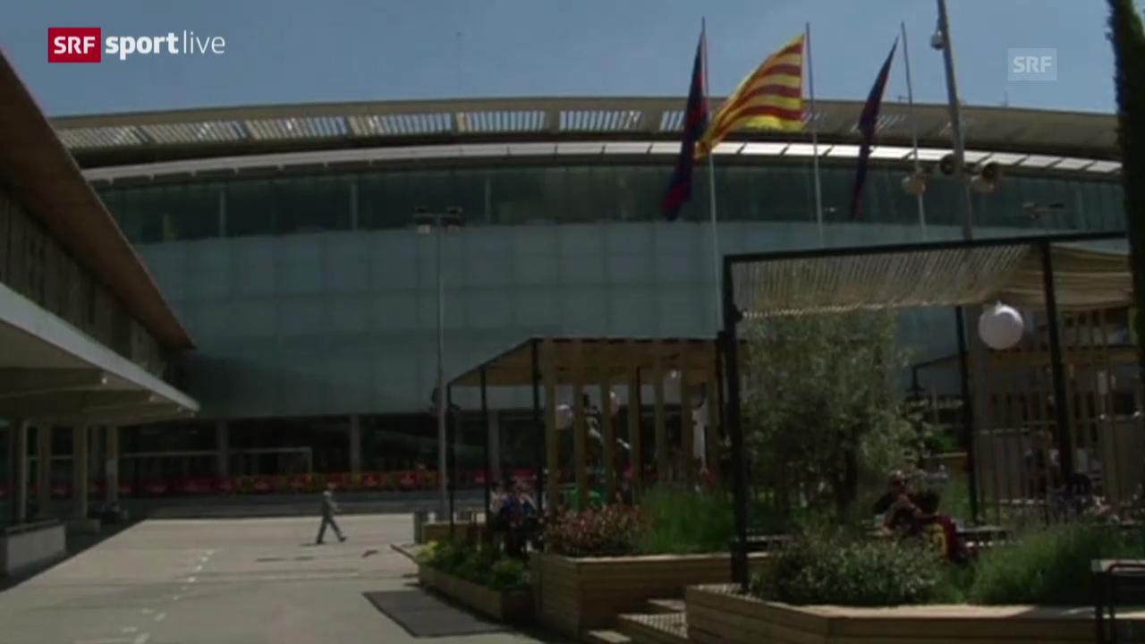 Fussball: Harte Strafe gegen Barcelona
