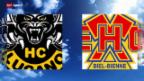 Video «Eishockey: Lugano - Biel» abspielen
