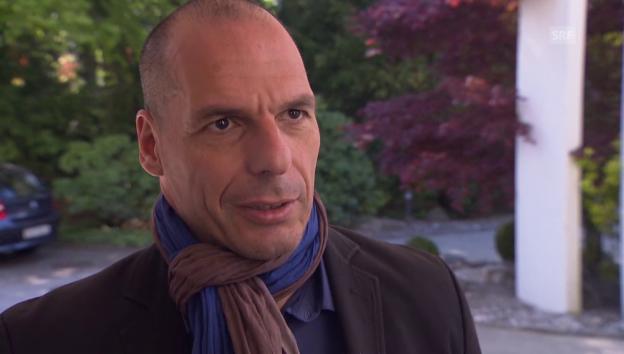 Video «Yanis Varoufakis zur griechischen Schuldenkrise» abspielen