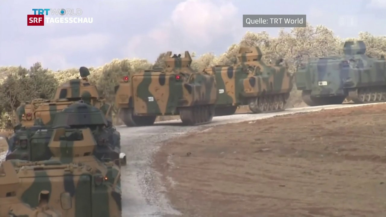 Türkischer Truppenaufmarsch an der syrischen Grenze