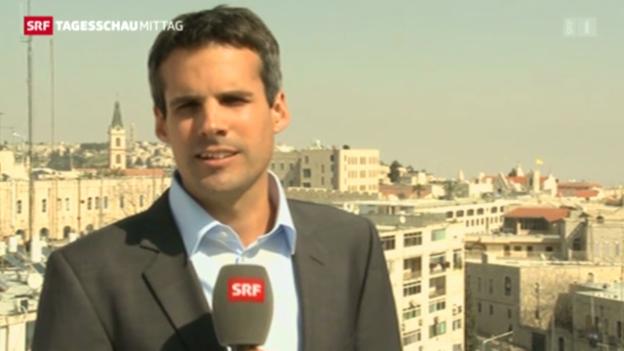 Video «Einschätzungen SRF-Korrespondent in Jerusalem.» abspielen