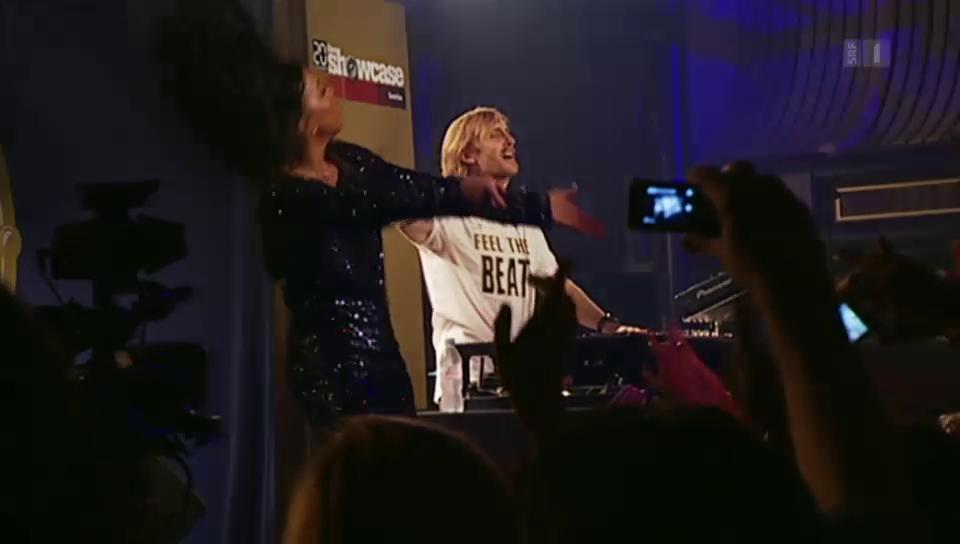 David Guetta im Zürcher Hallenstadion
