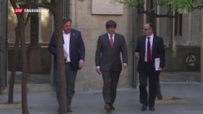 Video «Katalonien will gegen Zentralregierung klagen» abspielen